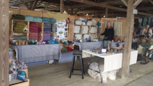Sip and Spin: Wool to Yarn experience for beginners @ Event barn at Boothby's Orchard and Farm